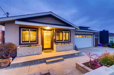 San Diego CA Single Family Home For Sale: $895,000