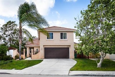 Escondido Single Family Home For Sale: 2404 Linda Court