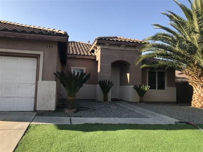 Riverside County Single Family Home For Sale: 191 La Amistad Way