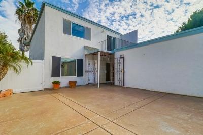 Chula Vista Townhouse For Sale: 1640 Maple Dr #16