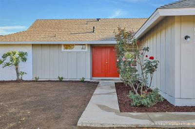 Clairemont, Clairemont East, Clairemont Mesa, Clairemont Mesa East Single Family Home For Sale: 6931 Boxford Dr