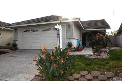 Vista Single Family Home For Sale: 1283 Longfellow Rd