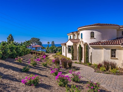 Solana Beach Single Family Home For Sale: 412 E Cliff Street
