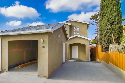 San Diego Single Family Home For Sale: 3042 44th