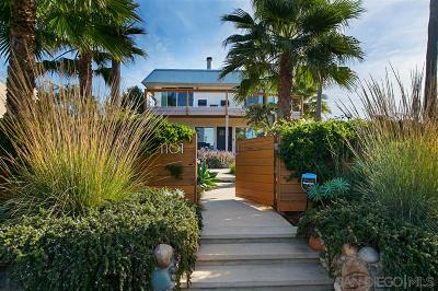 Encinitas Single Family Home For Sale: 1101 Cornish