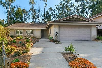 San Diego Single Family Home Sold: 10507 Medoc Ct