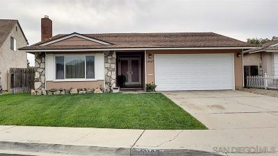 Santee Single Family Home For Sale: 10167 Beck