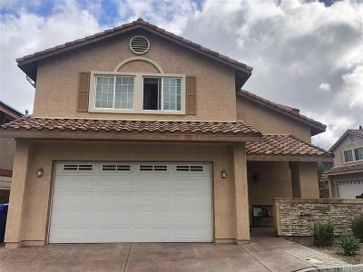 Santee Single Family Home For Sale: 9027 Farrington Ct