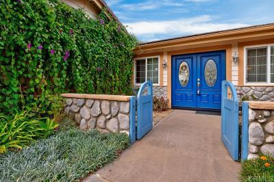 Fallbrook Single Family Home For Sale: 459 Stephens Port