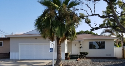 Chula Vista Single Family Home For Sale: 82 E Naples St