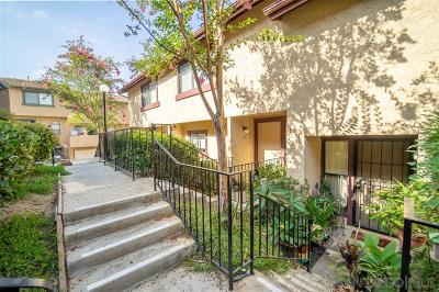 Santee Townhouse For Sale: 10790 Riderwood Terrace #Unit C