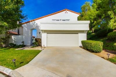 Escondido Single Family Home For Sale: 3707 Wildrose Glen