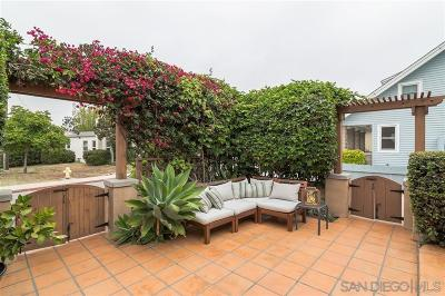 San Diego Single Family Home For Sale: 3676 Boundary Street
