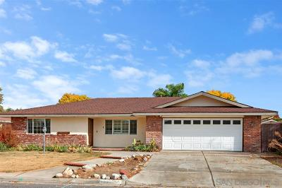 Riverside County Single Family Home Contingent: 26384 Naomi Dr