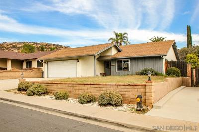 Poway Single Family Home For Sale: 13515 Mora Cir