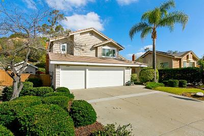 Poway Single Family Home For Sale: 12834 Shadowline St.
