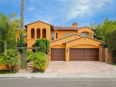 Single Family Home For Sale: 883 Padera Ct