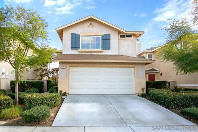 Escondido Single Family Home For Sale: 223 Cedar Gln