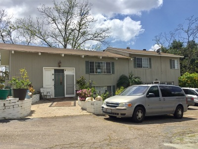 El Cajon Single Family Home For Auction: 1548 Peerless Dr