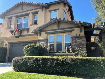 La Costa Oaks Single Family Home Sold: 7067 Sitio Corazon