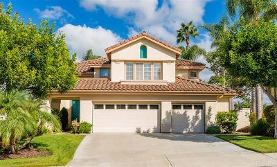 Aviara Single Family Home For Sale: 7011 Wildrose Terrace