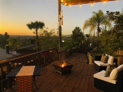 La Mesa Single Family Home For Sale: 3961 Apore St