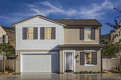 San Marcos Single Family Home For Sale: 686 Gemstone Drive