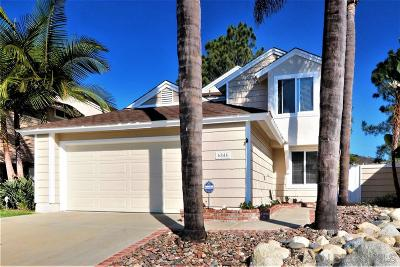Carlsbad Single Family Home For Sale: 6844 Via Verano