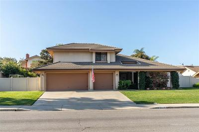 Oceanside Single Family Home For Sale: 1539 Silverado Drive