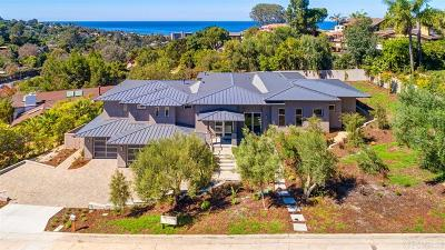 La Jolla CA Single Family Home For Sale: $4,395,000