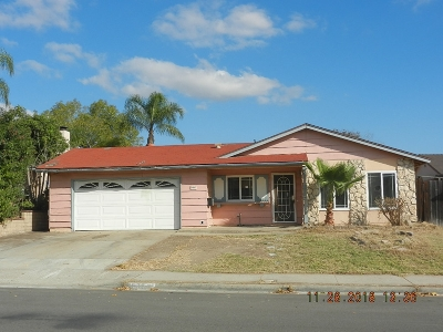 Santee Single Family Home For Sale: 9847 Via Rita