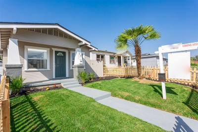San Diego Single Family Home For Sale: 3708 47th St