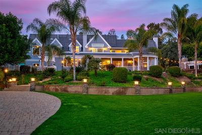 Del Mar Single Family Home For Sale: 4728 Sun Valley Rd