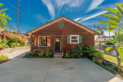 Solana Beach Single Family Home For Sale: 742 Ida Avenue