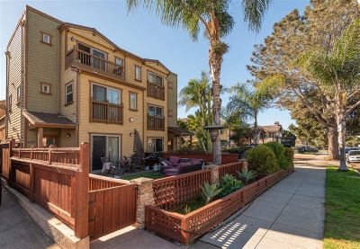Pacific Beach, Mission Beach Townhouse For Sale: 1243 Hornblend St