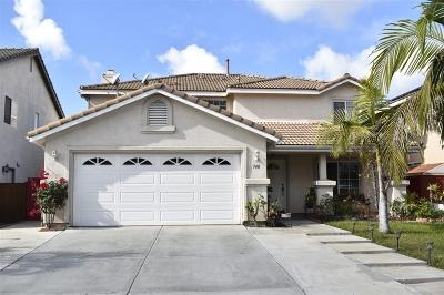 Chula Vista Single Family Home For Sale: 748 Diamond Dr.