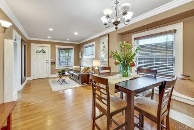 San Diego Single Family Home For Sale: 35th Street
