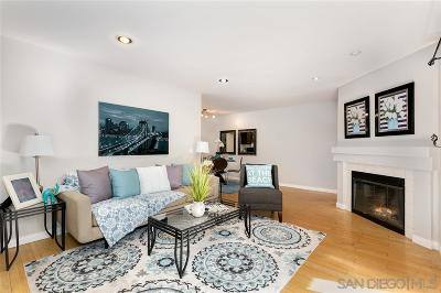 San Diego Attached For Sale: 3963 Eagle St #4