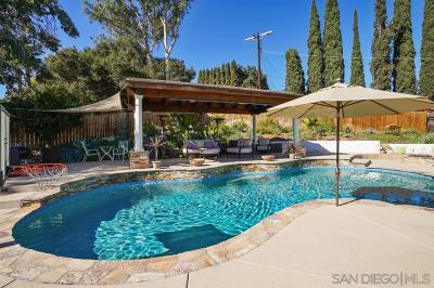 Escondido Single Family Home For Sale: 470 Bear Valley Pkwy