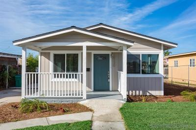 San Diego Single Family Home For Sale: 3130 40th St.