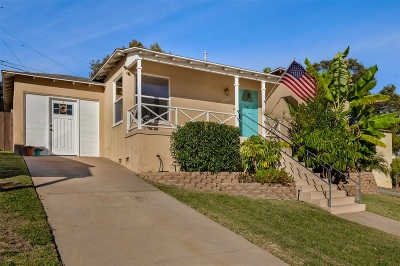 San Diego Single Family Home For Sale: 5840 Vale Way