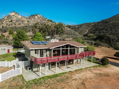 Fallbrook Single Family Home For Sale: 675 Rice Canyon Rd