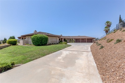 Escondido Single Family Home For Sale: 571 Lost Oak Lane