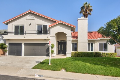 Del Mar Single Family Home For Sale: 13297 Portofino Drive