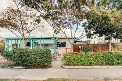 San Diego Single Family Home Sold: 3340 Orange Ave