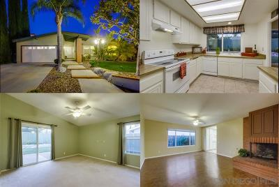 Poway Single Family Home For Sale: 13344 Lingre