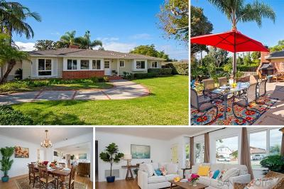 Oceanside Single Family Home For Sale: 1815 Hunsaker