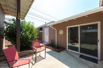 San Diego Single Family Home For Sale: 3639 Ethan Allen Ave
