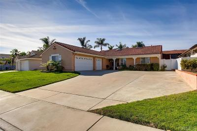 Oceanside Single Family Home For Sale: 845 Deerfield Court