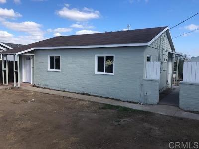 Single Family Home For Sale: 2327 Bonita St